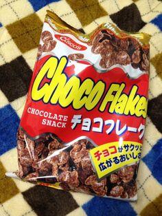 ChocoFlakes, Japanese Snack