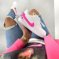 air jordan 1 mid rose fluo