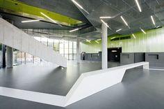 Science Park Linz, Mechatronik Building by Caramel Architekten, Austria