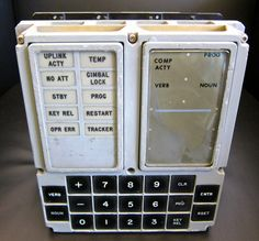DSKY (DISPLAY KEYBOARD) APOLLO GUIDANCE COMPUTER(AGC)MODEL CRAFT KIT ...