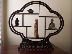 Antique Chinese JiChi Wood Display Shelf by Picabosplace on Etsy, $99.00
