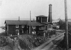 Viinapolttimo Mustalahdessa, 1900, (Kuvaaja: K. Mäkinen, Vapriikin kuva-arkisto)