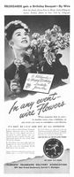 FTD Flowers Hildegarde 1944 Ad Picture