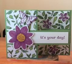Petite petals - Homemade Cards, Rubber Stamp Art, & Paper Crafts - Splitcoaststampers.com