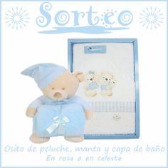 SORTEO accesorios de bebé. Sorteamos en nuestra página de Facebook un peluche, una suave manta y una capa de baño 100%algodón. Para un bebé muy especial. Es muy sencillo participar, participa en nuestro sorteo siguiendo el siguiente enlace:https://www.facebook.com/334607483240963/photos/a.335092309859147.66528.334607483240963/632072653494443/?type=1&theater . Mucha suerte!! ;)