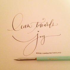 A gentle reminder to myself. The guiding compass to life -- lean towards joy. ✨ #spiritjunkie #spiritjunkiemasterclass #artsycanvasgirl