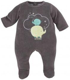 PYJAMA BEBE CHOCOLAT - Pyjamas, dors-bien, grenouilleres - VETEMENTS : Bébé – Sucre d'Orge
