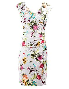 $17.81 - Women's Party Daily Club Vintage Street chic Bodycon Knee-length Dress, Floral Split V Neck Sleeveless 5142608 2018. Shop for cheap Women's Dresses online? Buy at lightinthebox.com on sale today!