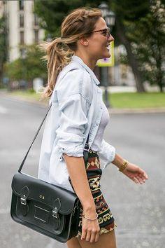 Get this look (skirt, shirt) http://kalei.do/WzV3ZHFtrGSffDuG