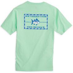 Southern Tide Original Skipjack T-Shirt in Offshore Green