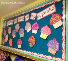 You are the Icing on my Cupcake- Valentine's Day Bulletin Board