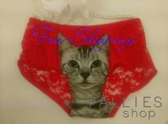 Check out this item in my Etsy shop https://www.etsy.com/listing/505201551/cat-panties-lace-panties-kitten-panties