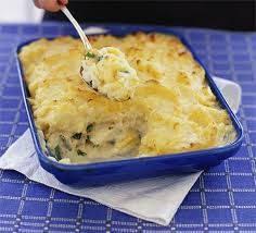 Fish pie in four steps is part of Fish Pie In Four Steps Recipe Bbc Good Food - Delicious and easy a fish pie anyone can make You'll learn how to poach fish and make a white sauce too Bbc Good Food Recipes, Pie Recipes, Seafood Recipes, Cooking Recipes, Yummy Food, Tilapia Recipes, Cuban Recipes, Savoury Recipes, Kitchen