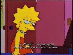 New quotes sad simpsons 41 Ideas The Simpsons, Simpsons Quotes, Cartoon Quotes, Lisa Simpson, New Quotes, Work Quotes, Daily Quotes, Quotes Inspirational, Simpson Wallpaper Iphone