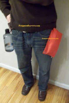 Pencil Pouch Bug Out Bag