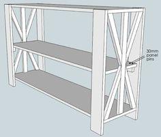 42 Best diy  repurposed bookshelf images | Diy furniture