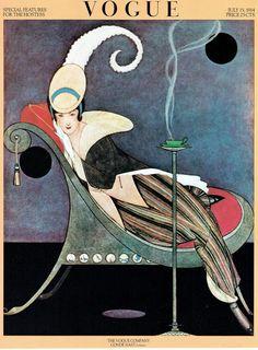 ⍌ Vintage Vogue ⍌ art and illustration for vogue magazine covers - 1914 Vogue Vintage, Capas Vintage Da Vogue, Vintage Vogue Covers, Fashion Vintage, Art And Illustration, Fashion Illustration Vintage, Illustrations And Posters, Fashion Illustrations, Fashion Drawings