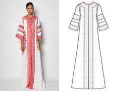 2 в 1: Готовая выкройка платья и туники