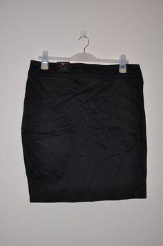 Ladies skirt *S46* New Look pencil knee black - size 18 BNWT £22 RRP