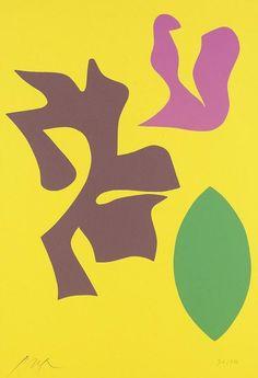 Hans (Jean) Arp, Wood Cut from the Portfolio Documenta Geigy. Das Unbehagen in der Kunst, 1965. Basel.