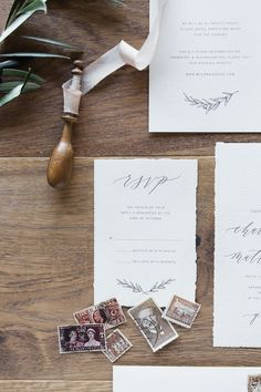Calligraphy Suite - Wedding Stationery - Michaela McBride