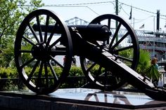 Civil War Cannon in New Orleans