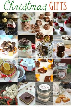 25+ Edible Christmas Gift ideas!  Sweet treats for everyone on your list.. and so much fun to make! | The Grant Life