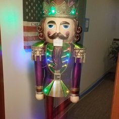 The Integrity Homeselling Team has started putting up our Christmas decorations! We started with our life size Nutcracker!