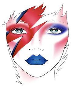Disfraz de David Bowie