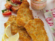 Der Couscous macht die Panade besonders knusprig: Couscous-Schnitzel | Zeit: 36 Min. | http://eatsmarter.de/rezepte/couscous-schnitzel