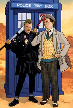 Ace and 7th Doctor by KellyYates