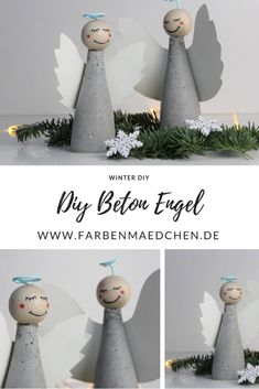 Winter DIY Beton DIY Engel Source by farbenmaedchen Diy Crafts To Do, Crafts For Teens To Make, Diy For Teens, Diy For Kids, Simple Crafts, Clay Crafts, Felt Crafts, Kids Crafts, Diy Jewelry To Sell