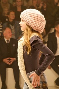 The oversized beanie knitted hat, a firm teenage favourite for next winter's fashion fall 2013 Fabulous women styles 2013 Fall Outfits for Women 2013 | Alton Gray Recommends #Fashion #Fall #Winter #2013 #styles #Trends #Fall2013 #girl #classy #women #shopping #hairstyle #handbag