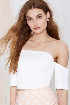 Keepsake Subime Off-the-Shoulder Crop Top | Shop Clothes at Nasty Gal!