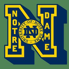 Notre Dame Fightin' Irish | Frank Ozmun Graphic Design