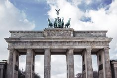 Brandenburger Tor | Brandenburg Gate in Berlin | Moonlight Bohemian Berlin, Brandenburg Gate, Moonlight, Travel Photography, Louvre, Bohemian, Building, Places, Instagram