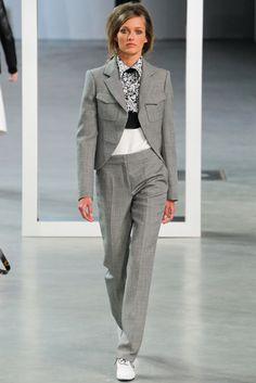 Derek Lam RTW A/W 2012/13.  Model - Karmen Pedaru.