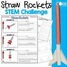 Straw rocket challen