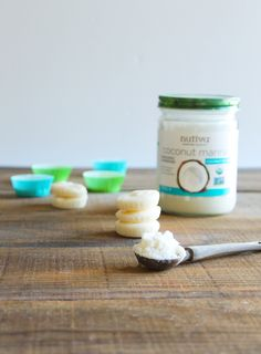 Paleo Coconut Butter Bites. Simple snack with just a few simple ingredients including Nutiva Organic Coconut Manna. Vegan. kitchen.nutiva.com