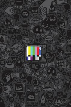 #Phone Test Pattern Mobile Wallpaper #Wallpapers