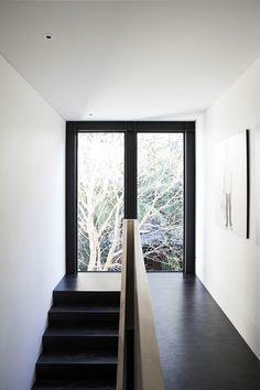 25 Modern Minimalist House Design in Black and White Color Scheme Interior Design Examples, Interior Design Inspiration, Interior Ideas, Design Ideas, Newtown House, Modern Minimalist House, Victorian Terrace, Decoration, Lighting Design