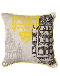 Room Service 'Morrocan Lanterns' Decorative Pillow