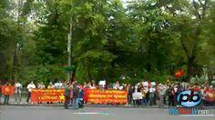 Người Việt biểu tình phản đối trước ĐSQ Trung Quốc ở Kiev, Ukraine