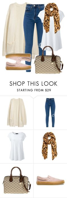 """""""Sin título #106"""" by mercy-rut-de-rojas on Polyvore featuring moda, Lands' End, Roffe Accessories, MICHAEL Michael Kors, Vans y plus size clothing"""