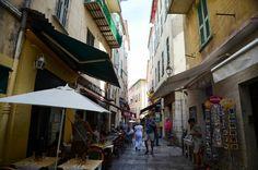 상점가 Villefranche Sur Mer