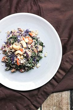 This Asian-inspired dish with autumn veggies is easy, flexible, and oh so tasty!