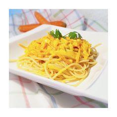 Avocat et Chocolat: Spaghettis carottes - safran Spaghetti, Pasta, Ethnic Recipes, Food, Carrots, Lawyer, Chocolates, Recipes, Kitchens