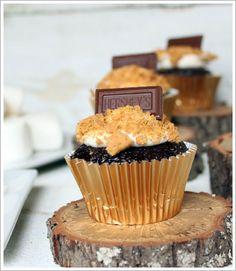 S'more's cupcake recipe!!!