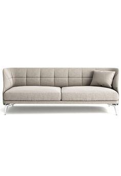 Leeon Soft sofa designed by L + R Palomba Sofa Furniture, Cheap Furniture, Luxury Furniture, Living Room Furniture, Modern Furniture, Furniture Design, Discount Furniture, Modern Sofa Designs, Sofa Set Designs