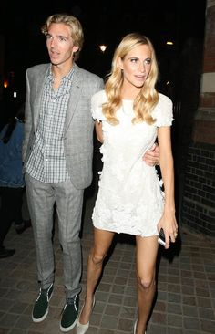 Poppy Delevingne flaunts her amazing legs in a Chanel mini dress [Splash]